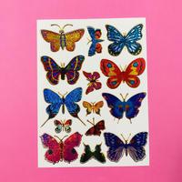 蝶々 キラキラ シール ⑩  BUTTERFLY STICKER