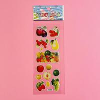 フルーツ④ ぷっくりシール FRUIT STICKER