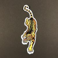 トラ 虎 タイガー シール 左向き TIGER STICKER