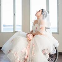 WEDDING RIBBON 車椅子ドレスレンタル