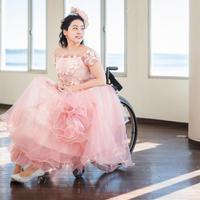 cherry blossom 車椅子ドレス