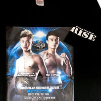 WORLD SERIES 決勝Tシャツ/-61kg 那須川×志朗 ver.