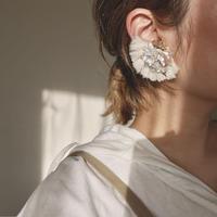 Baroque pearls fringe earrings