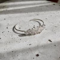 5 Harkimer diamond Silver925 bangle