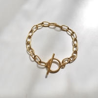 Found- Stainless chain bracelet  gold
