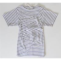dry cotton power shoulder cut dress