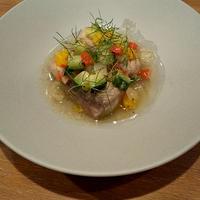 長崎県産 本マグロ テールと彩り野菜の南仏風