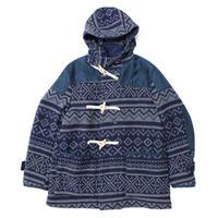 Engineered Garments(エンジニアード ガーメンツ)-Duffle Coat-Fair isle Blanket-
