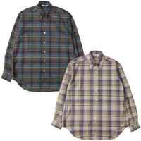 "Ladies' /AURALEE(レディース オーラリー)""SUPER LIGHT WOOL CHECK SHIRTS"""