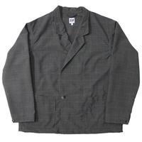"AiE(エーアイイー)""EZ Jacket - Polyester Windowpane"""