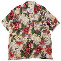 "ENGINEERED GARMENTS(エンジニアードガーメンツ)""Camp Shirt - Hawaiian Rayon Floral"""