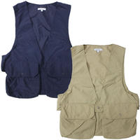 "ENGINEERED GARMENTS(エンジニアードガーメンツ)""Fowl Vest - Acrylic Coated Nylon Taffet"""