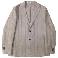 "AURALEE(オーラリー)""LINEN WOOL SILK SHARK SKIN JACKET"""