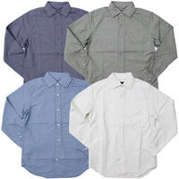"Nigel Cabourn(ナイジェルケーボン)""BRITISH OFFICERS SHIRT [OX]"""