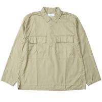 "WELLDER(ウェルダー)""Half-Zip Pullover Shirt"""