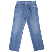 "AURALEE(オーラリー)""WASHED HARD TWIST DENIM 5P PANTS"""