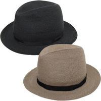 """KIJIMA TAKAYUKI(キジマ タカユキ)""""PAPER BRAID RIBON BRIM HAT [No.181214]"""""""