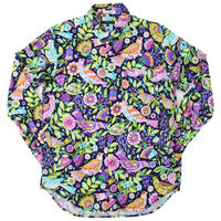 "Engineered Garments(エンジニアード ガーメンツ)""Short Collar Shirt - Bird Print""Multi"