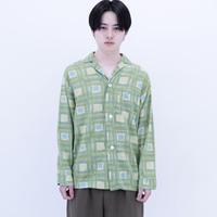 Pajamas Open Collar Shirt