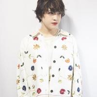 All Flower White Cotton Jacket