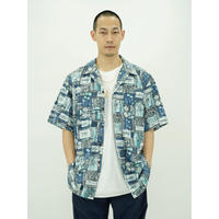 "Open Coller Hawaiian Shirt ""Deadstock"""
