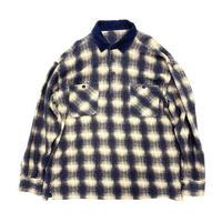 Shadow Check Pullover Shirt