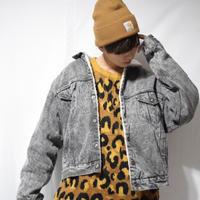 80's Vintage  Leopard Knit