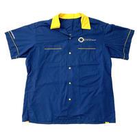 """"""" vintage """"  bi-color work shirt"""