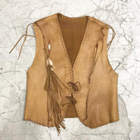70's North Beach Handmade Leather Vest