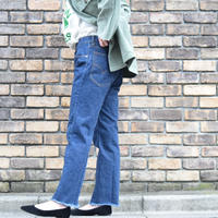 80's Levi's 505 Center press Fringe Jeans
