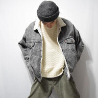 90's Levi's Denim Boa Jacket