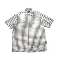 """Old Stussy  Check S/S Shirt """"Made in USA"""""""