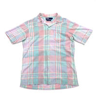 Ralph Lauren Madras Check Opencollar Shirt