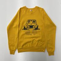 "Vintage Print Sweat ""Driving MINI"""