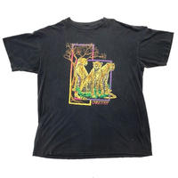 "80s "" vintage "" cheater print t-shirt"
