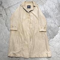 Vintage Burberry's Silk Balmacaan Coat