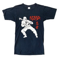 "80s "" vintage ""  NINJA print t-shirt"