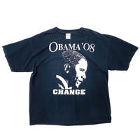 "Vintage Print Tee ""OBAMA"" Election Period"