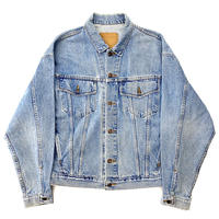 """ Levi's ""  denim trucker jacket"