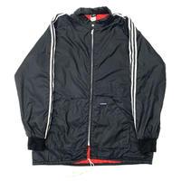 "80s "" adidas ""  nylon racing jacket"