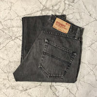 90's Stussy  Skate Fringe Jeans