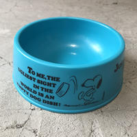 70's SNOOPY Dog Dishes