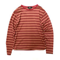 "RRL Border L/S Tee ""Made in USA"""
