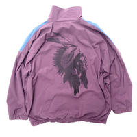 "Vintage Cotton Track Jacket ""Indian Head"""