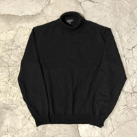 Gucci Black Cashmere Turtleneck Sweater