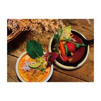 RKGARDEN オリジナルスープカレーと豆乳スープのラクサヌードル Set【各2人前】