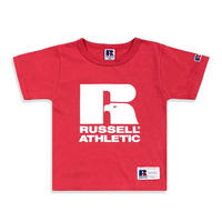 Bookstore Jersey Print Crew Neck T <1001PT KIDS_OLD RED>