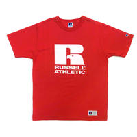 RUSSELL ATHLETIC  プリントTシャツ1001PT<レッド>