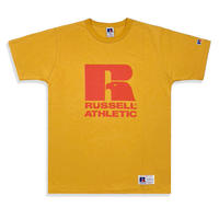 Bookstore Jersey Print Crew Neck T <1001PT_OLD GOLD>