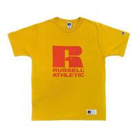 RUSSELL ATHLETIC  プリントTシャツ1001PT<ゴールド>